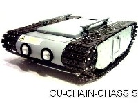 Cu-Chain-Chassis Roboter Fahrgestell