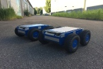 4WD MAX Roboter Chassis