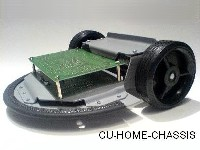 Cu-Home-Chassis Roboterfahrgestell
