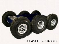 Cu-Wheel-Chassis 6-Rad Fahrgestell