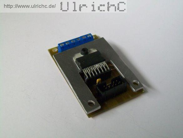 Motorsteuerung - Cu-R-Control2 AddOn-Motor-Dual2A