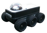Mobiler Roboter: IScout-6WD